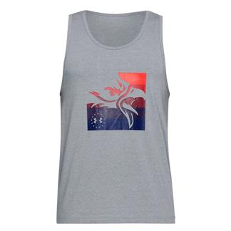 Under Armour Freedom Eagle Tank Steel Light Heather / Red