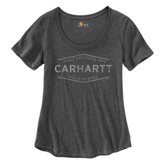 Carhartt Lockhart Graphic Built by Hand T-Shirt Carbon Heather