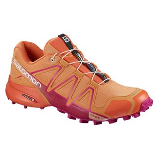 Salomon Speedcross 4 Bird Of Paradise/Nasturtium / Pink Yarrow