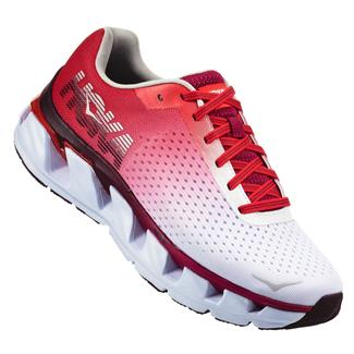 Hoka One One Elevon White / Cherries Jubilee