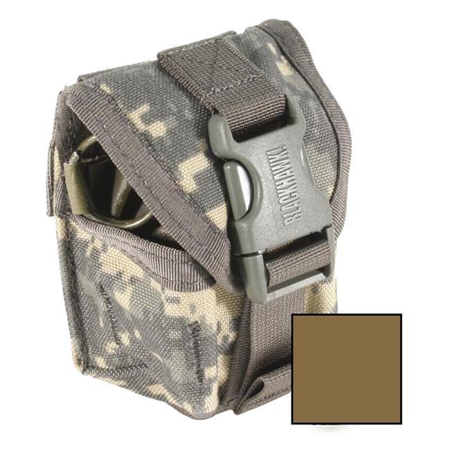 Blackhawk STRIKE Single Frag Grenade Pouch Coyote Tan