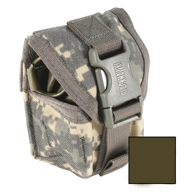 Blackhawk STRIKE Single Frag Grenade Pouch Olive Drab