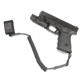 Blackhawk Tactical Pistol Lanyard Black Coiled