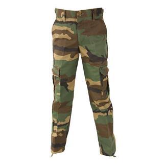 Kids' Propper Nylon / Cotton Twill Kids BDU Pants Woodland Camo