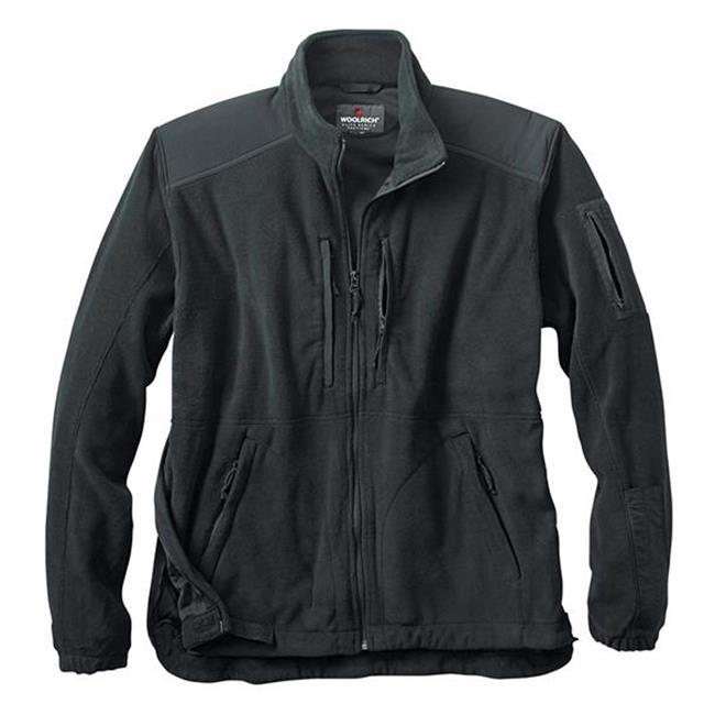 Woolrich Elite Fleece Tactical Jacket Black