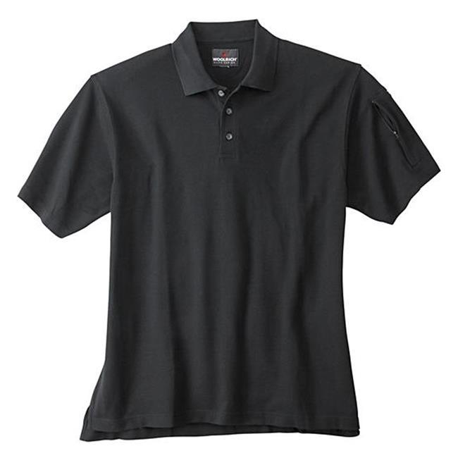 Woolrich Elite Short Sleeve Tactical Polo Black
