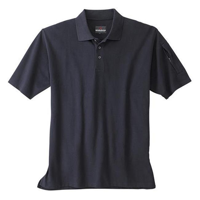 Woolrich Elite Short Sleeve Tactical Polo Navy