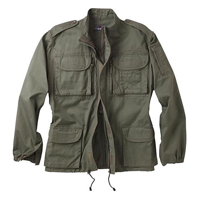 Woolrich Elite Algerian Jacket OD Green