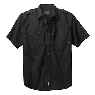Woolrich Elite Short Sleeve Shirt Black