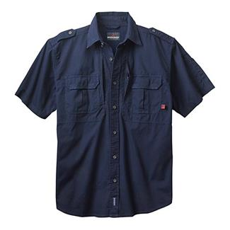 Woolrich Elite Short Sleeve Shirt Navy