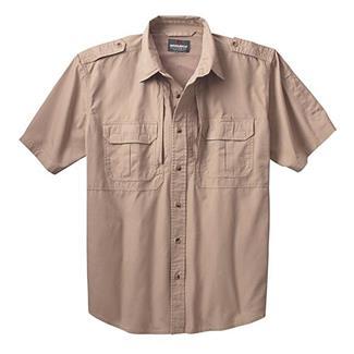 Woolrich Elite Short Sleeve Shirt Khaki