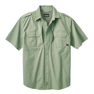 Woolrich Elite Short Sleeve Shirt Sage Green