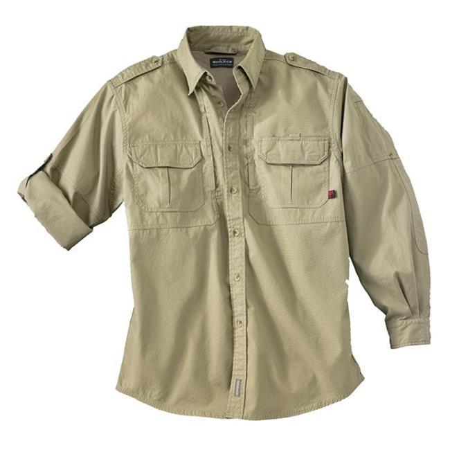 Woolrich Elite Long Sleeve Shirt Khaki