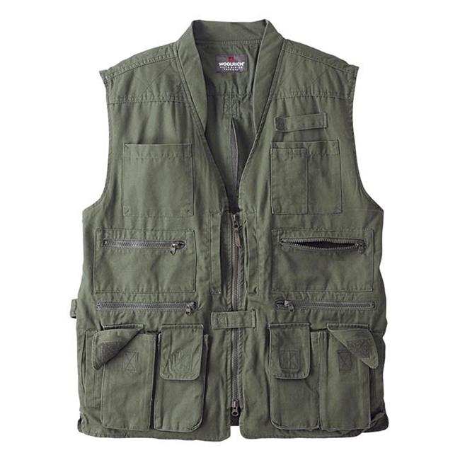 Woolrich Elite Tactical Vest OD Green