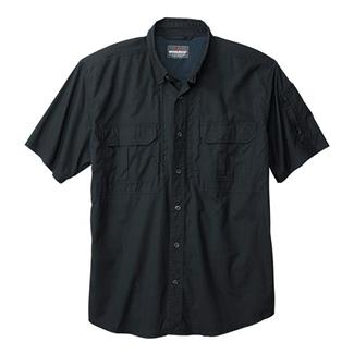 Woolrich Elite Short Sleeve Operator Shirt Black