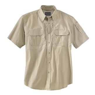 Woolrich Elite Short Sleeve Operator Shirt Khaki