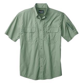 Woolrich Elite Short Sleeve Operator Shirt Sage Green