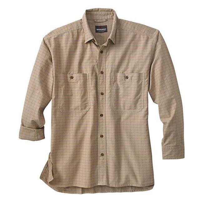 Woolrich Elite CCW Long Sleeve Shirt British Tan