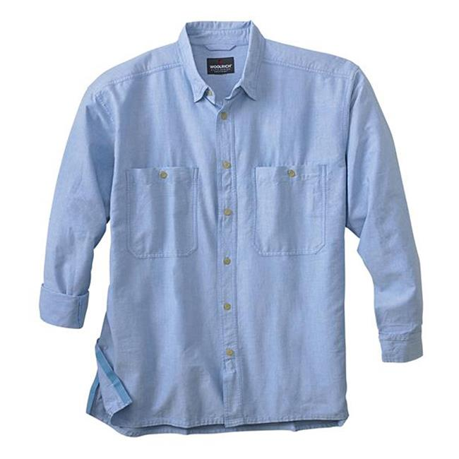 Woolrich Elite CCW Long Sleeve Shirt Blue