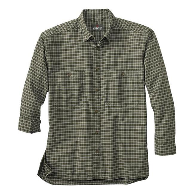 Woolrich Elite CCW Long Sleeve Shirt Loden