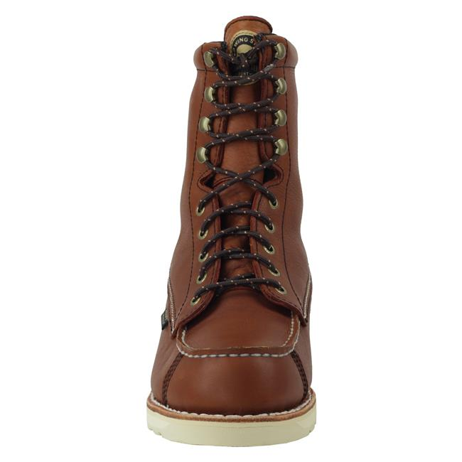 "Irish Setter 9"" WingShooter Moc Toe WP Amber"