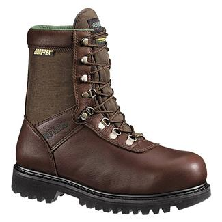 "Wolverine 8"" Big Horn GTX 600G Brown"