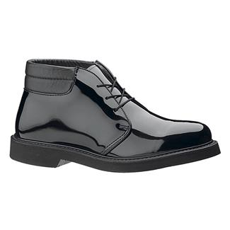 Bates Lites High Gloss Padded Collar Chukka Black