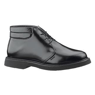 Bates Lites Leather Padded Collar Chukka Black