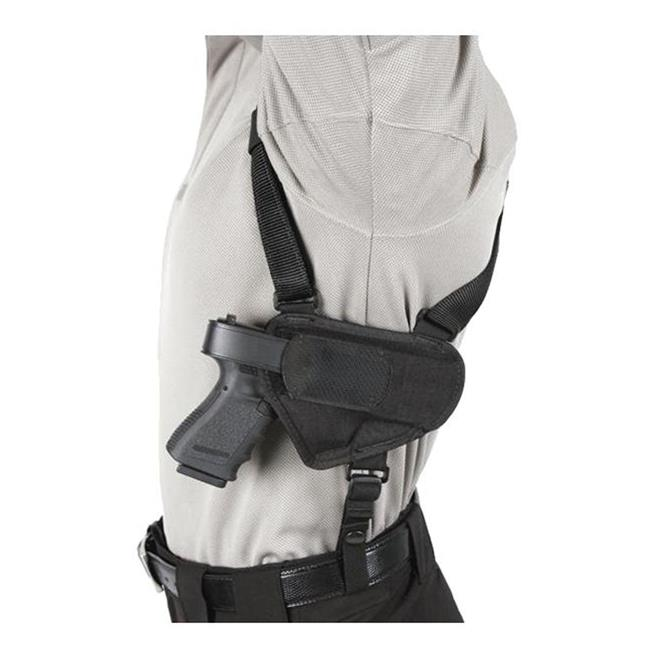 Blackhawk Nylon Ambidextrous Horizontal Shoulder Holster Black