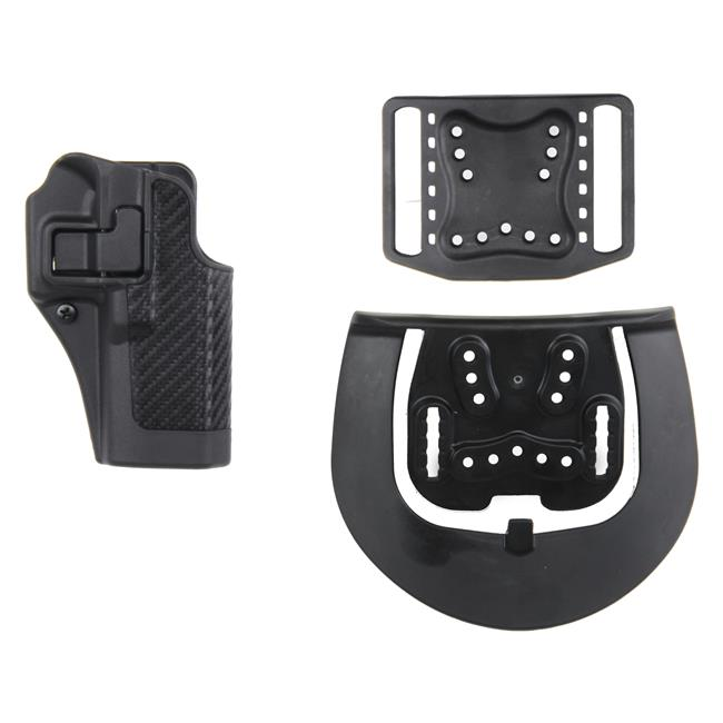 Blackhawk SERPA Level 2 Holster Matte Carbon Fiber Black