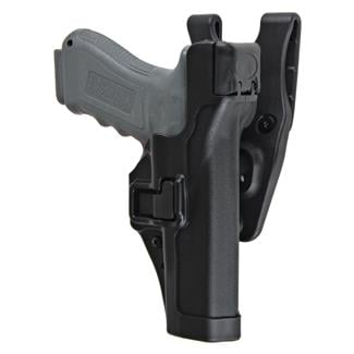 Blackhawk SERPA Level 3 Duty Holster Matte Black Matte Black