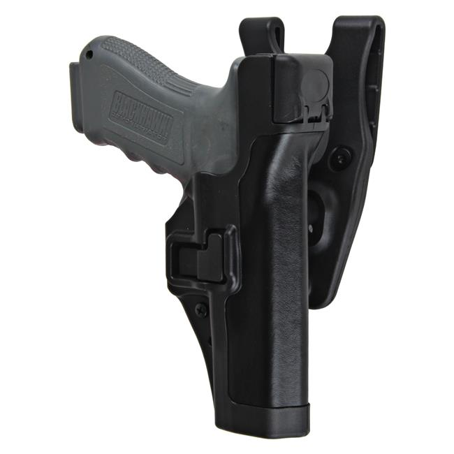 Blackhawk SERPA Level 3 Duty Holster Black Plain