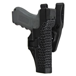 Blackhawk SERPA Level 3 Duty Holster Basket Weave Black