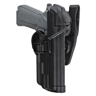 Blackhawk SERPA Level 3 Light Bearing Duty Holster Black Matte