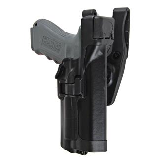 Blackhawk SERPA Level 3 Light Bearing Duty Holster Plain Black