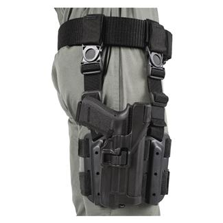 Blackhawk SERPA Level 3 Light Bearing Tactical Holster Black Matte