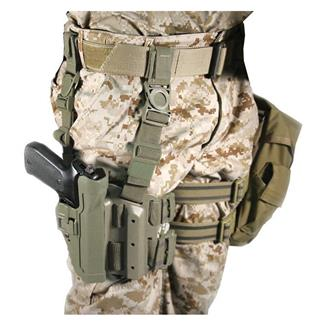 Blackhawk SERPA Level 2 Tactical Holster Matte Foliage Green