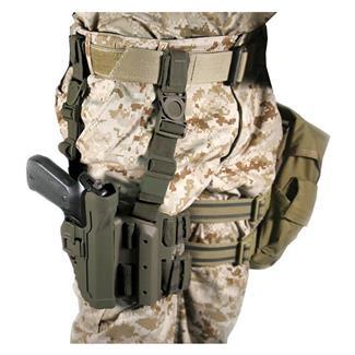 Blackhawk SERPA Level 2 Tactical Holster Olive Drab Matte