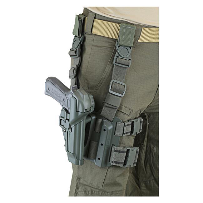 Blackhawk SERPA Level 3 Tactical Holster Matte Foliage Green