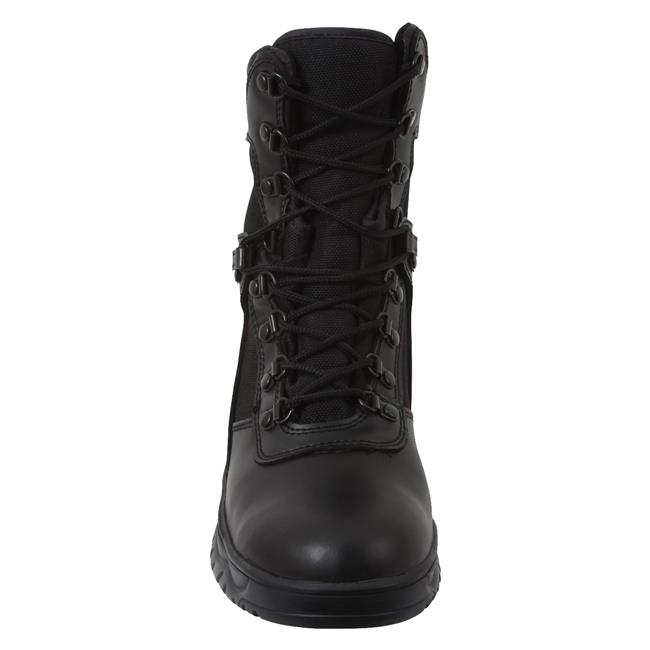 """Rothco 8"""" Forced Entry Tactical WP Black"""
