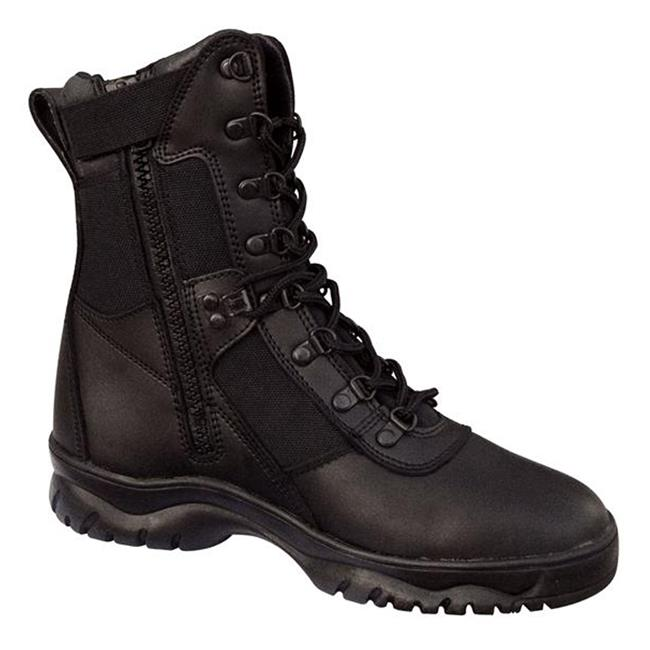"""Rothco 8"""" Forced Entry Tactical SZ Black"""