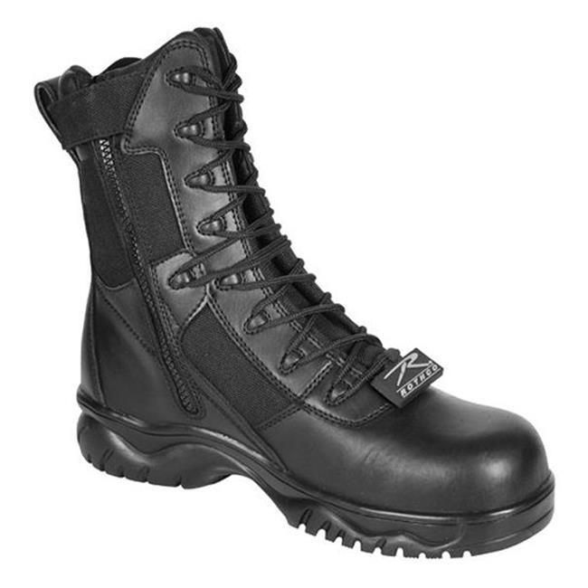 """Rothco 8"""" Forced Entry Tactical CT SZ Black"""