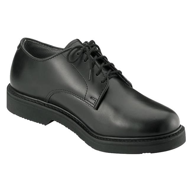 Rothco Soft Sole Leather Uniform Oxfords Black