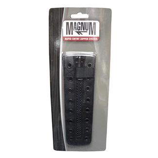 Magnum 8 Hole Service Zipper Black