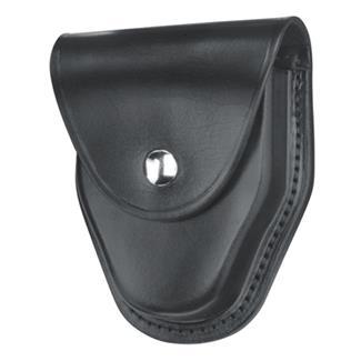 Gould & Goodrich ASP and Hiatt Handcuff Case with Nickel Hardware Hi-Gloss Black