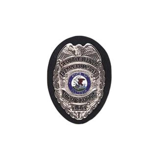 Gould & Goodrich Clip-On Shield Badge Holder Plain Black