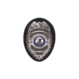 Gould & Goodrich Clip-On Shield Badge Holder Black Plain