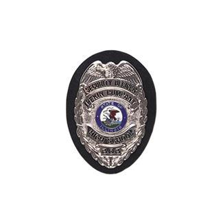Gould & Goodrich Clip-On Shield Badge Holder Plain Black
