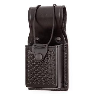 Gould & Goodrich Universal Radio Case Basket Weave Black