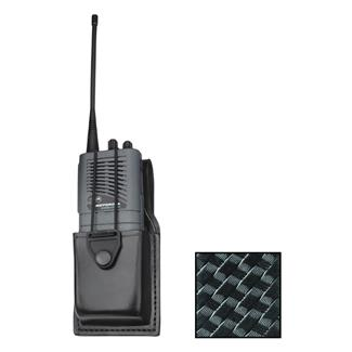Gould & Goodrich K-Force Universal Radio Case Basket Weave Black
